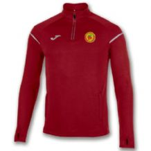 Avenue United FC Sweatshirt 1/2 Zipper Race Red Adults